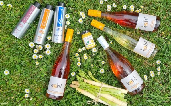 """""""Rosé, Olivenöl & Spargel"""", online am 28.05.21 um 19 Uhr"""